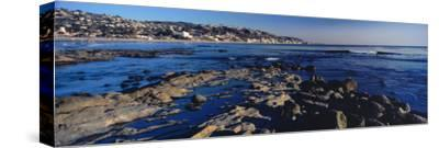 Rock formations at the coast, Laguna Beach, Orange County, California, USA