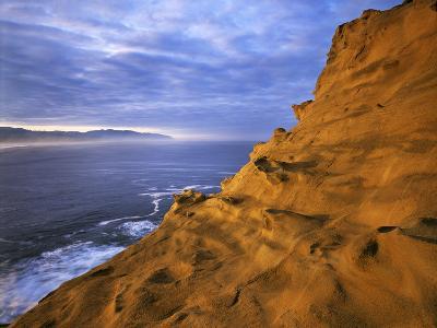 Rock Formations, Cape Kiwanda State Natural Area, Oregon, USA-Charles Gurche-Photographic Print