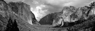 Rock Formations in a Landscape, Yosemite National Park, California, USA