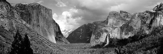 Rock Formations in a Landscape, Yosemite National Park, California, USA--Photographic Print