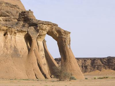Rock Formations in Desert-Frank Lukasseck-Photographic Print