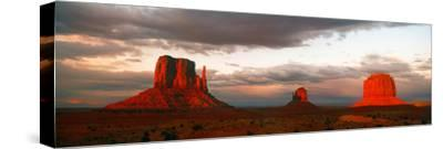 Rock Formations in Monument Valley, San Juan County, Utah, USA