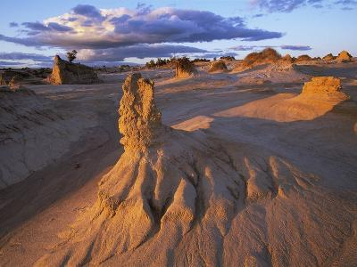 Rock Formations in Mungo National Park-Theo Allofs-Photographic Print