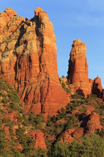Rock Formations in Sedona, Arizona, United States of America, North America-Richard Cummins-Photographic Print