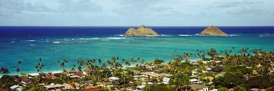 Rock Formations in the Pacific Ocean, Lanikai Beach, Oahu, Hawaii, USA--Photographic Print