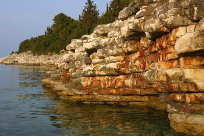 Rock Formations, Kefalonia, Greece-Peter Thompson-Photographic Print