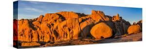 Rock formations on a landscape, Joshua Tree National Park, California, USA