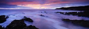 Rock Formations on the Beach, Barricane Beach, Morte Point, Woolacombe, North Devon, Devon, England