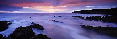 Rock Formations on the Beach, Barricane Beach, Morte Point, Woolacombe, North Devon, Devon, England--Photographic Print