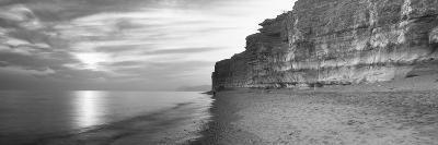 Rock Formations on the Beach, Burton Bradstock, Dorset, England--Photographic Print