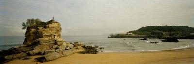 Rock Formations on the Beach, El Sardinero, Santander, Cantabria, Spain--Photographic Print