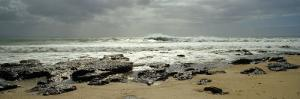 Rock Formations on the Beach, Jeffreys Bay, Eastern Cape, South Africa