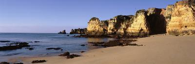 Rock Formations on the Coast, Algarve, Lagos, Portugal--Photographic Print