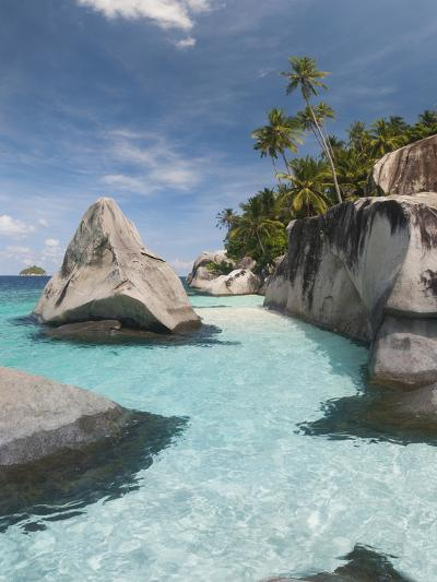 Rock Formations on the Coast, Pulau Dayang Beach, Malaysia--Photographic Print