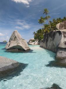 Rock Formations on the Coast, Pulau Dayang Beach, Malaysia