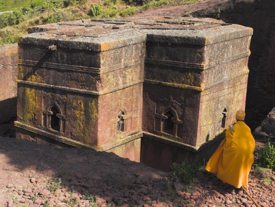 Rock-Hewn Church of Bet Giyorgis, Lalibela, Ethiopia-Jane Sweeney-Photographic Print