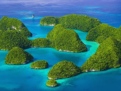 Rock Islands-Bob Krist-Photographic Print
