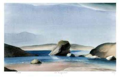 Rock - Murray's Inlet-Norman Anthony Onley-Collectable Print