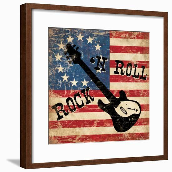 Rock N Roll-N^ Harbick-Framed Art Print