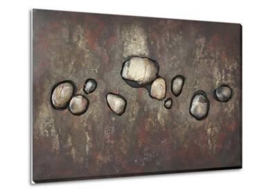 Rock of Time II--Metal Wall Art