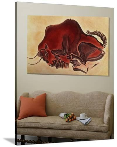 Rock Painting of a Bison, Late Magdalenian, 13000 BC--Loft Art