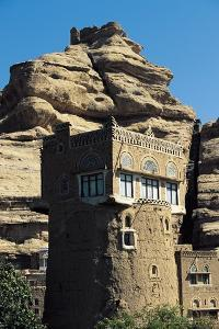Rock Palace at Wadi Dhahr, Sana'A Governorate, Yemen