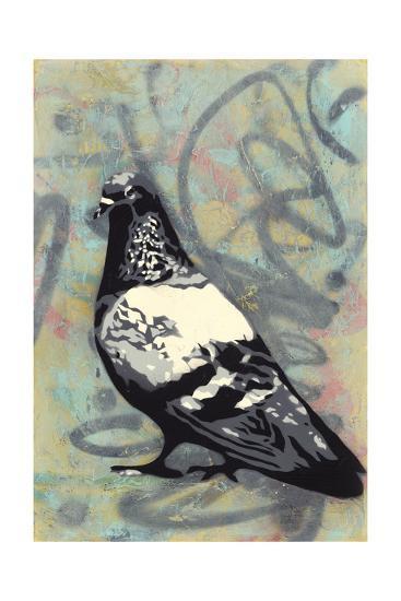 Rock Pigeon-Urban Soule-Premium Giclee Print