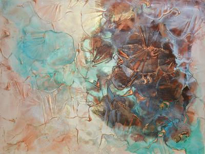 Rock Pool-Caroline Ashwood-Giclee Print