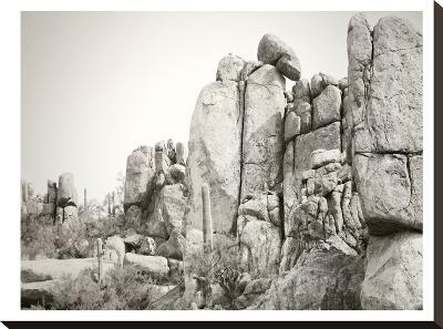 Rock Wall-Murray Bolesta-Stretched Canvas Print