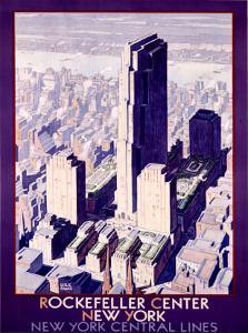 Rockefeller Center Railroad, c.1934