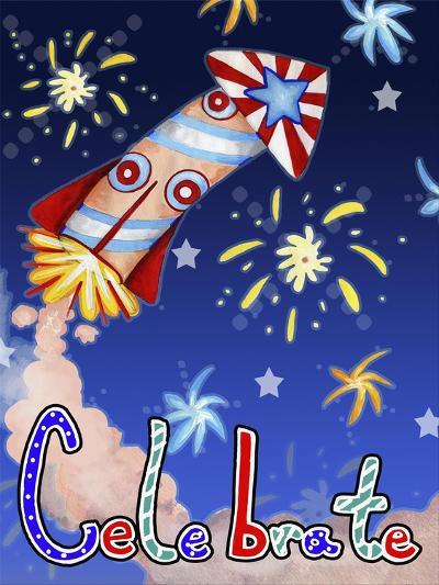 Rocket Celebration-Valarie Wade-Giclee Print