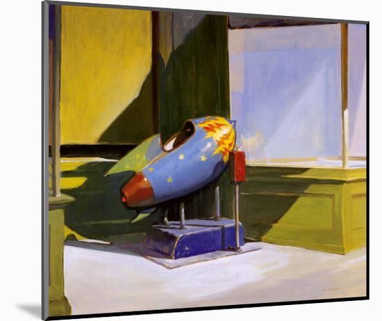 Rocket Ride-Morgan Carver-Mounted Art Print