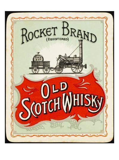 Rocket Whiskey--Giclee Print