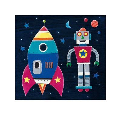 Rocket-Simon Hart-Art Print