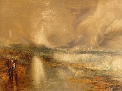 Rockets and Blue Lights, 1855 (Chromolitho)-J^ M^ W^ Turner-Giclee Print