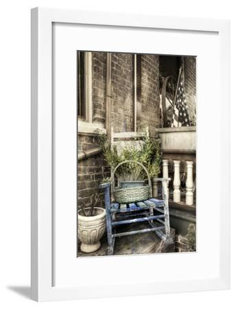 Rocking Chair BW-Bob Rouse-Framed Photographic Print