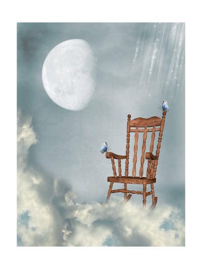 Rocking Chair-justdd-Art Print