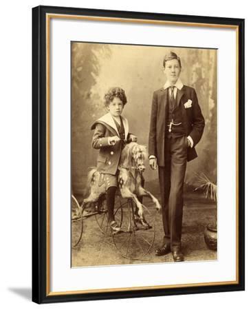 Rocking Horse, 1860-80--Framed Photographic Print