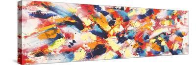 Rocking Waves-Bob Ferri-Stretched Canvas Print