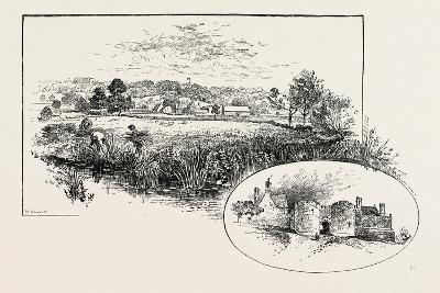 Rockingham Village and Castle (Left)--Giclee Print