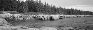 Rocks along the Lake, Schoodic Peninsula, Acadia National Park, Maine, USA