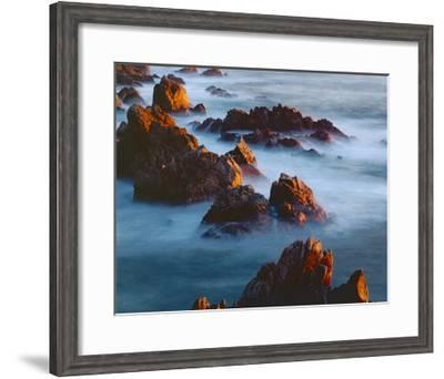 Rocks and Surf-William Neill-Framed Giclee Print