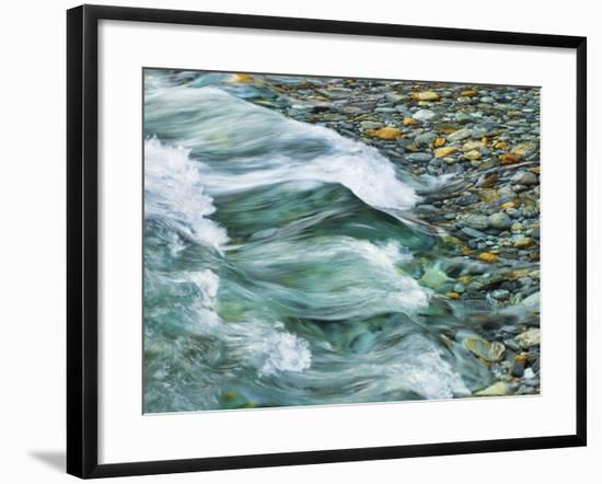 Rocks and waters of Verzasca River-Frank Krahmer-Framed Photographic Print