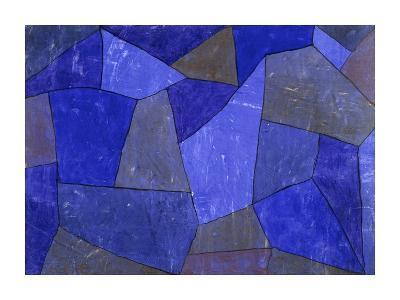 Rocks at Night-Paul Klee-Giclee Print