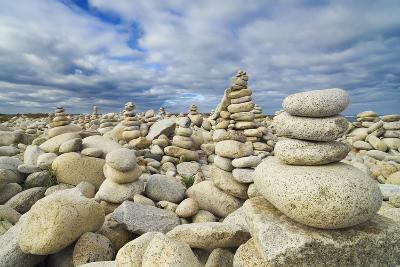 Rocks at Pebble Beach, Trebeurden, Cote De Granit Rose, Cote D'armor, Brittany, France-Frank Krahmer-Photographic Print