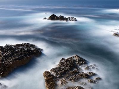 Rocks Below Soberanes-Douglas Steakley-Photographic Print
