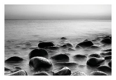 Rocks in Mist 3--Art Print