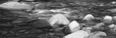 Rocks in the Swift River, White Mountain National Forest, New Hampshire, USA--Photographic Print