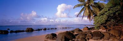 Rocks on the Beach, Anini Beach, Kauai, Hawaii, USA--Photographic Print