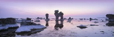 Rocks on the Beach, Faro, Gotland, Sweden--Photographic Print